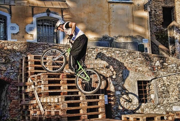 Trial bike.... di Zerosedici