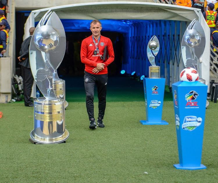 Orlando Pirates' Serbian coach Milutin Sredojevic is eyeing his first trophy with the Soweto giants.