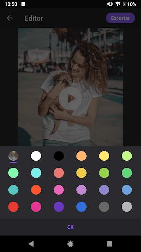 Video Maker: Editor de Vídeo com Fotos e Música screenshot 9