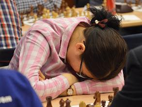 Photo: WGM Enkhtuul Altan-Ulzii (MGL) in sleep position