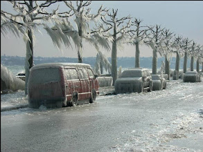 Photo: Ice Storm - Geneva, Switzerland