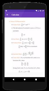 Calculus Formulas - Math formulas - náhled