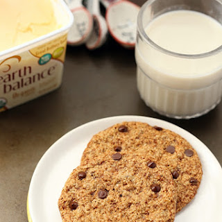 Healthy Chocolate Chip Cookies for Two.
