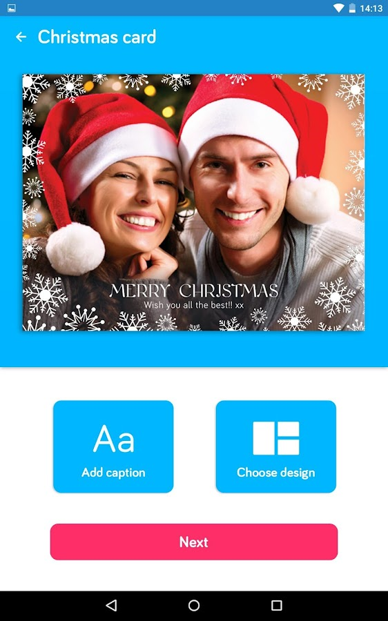 Touchnote Christmas Edition- screenshot