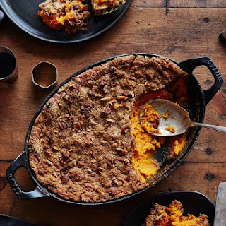 Edna Lewis & Scott Peacock's Sweet Potato Casserole