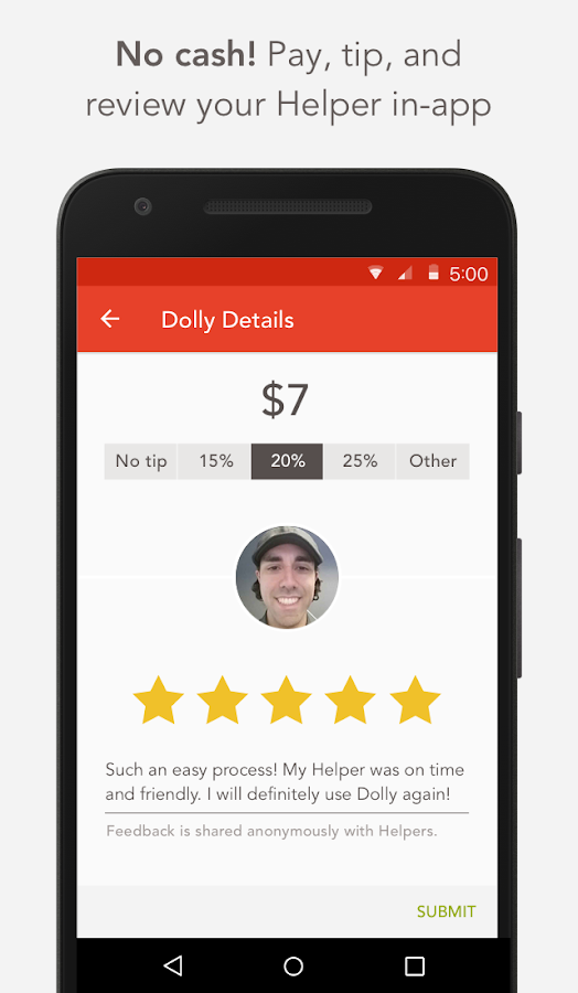 Dolly your move anything app android apps on google play for Furniture movers seattle