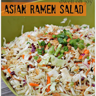 Asian Ramen Salad Recipe