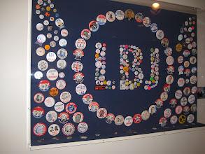 Photo: Inside LBJ Library