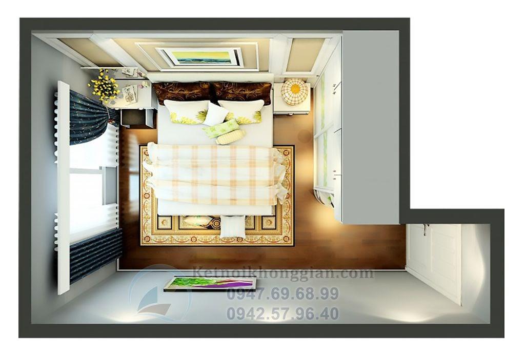 thiết kế nội thất chung cư màu sắc nhẹ nhàng