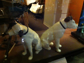 Photo: Country Music Hall of Fame and Museum, Nashville, TN.  RCA dogs.