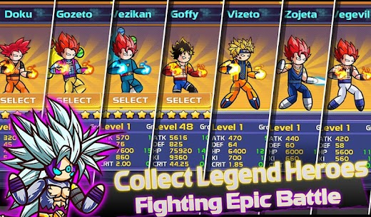 Stickman Fight : Dragon Legends Battle 7