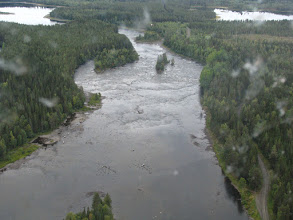 Photo: Edsforsen Södra fåran, övre delen