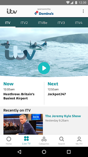 ITV Hub app (apk) free download for Android/PC/Windows