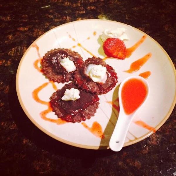 Strawberry Chocolate Ravioli Recipe