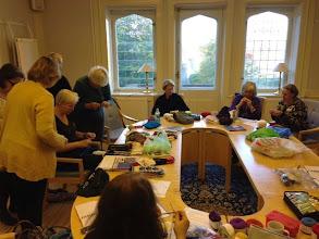 Photo: Hela lördagen var det massor av workshops: här har Eva-Lotta Staffas sin första.