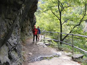 Photo: Górski szlak stawał się coraz bardziej niebezpieczny (foto Zbyszek I.)