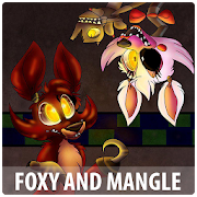 App Icon for Wallpapers 4K For Foxy and Mangle App in Czech Republic Google Play Store