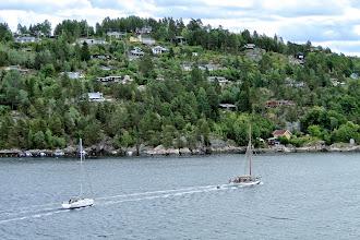 Photo: Fahrt durch den Oslofjord (27.06.2014)