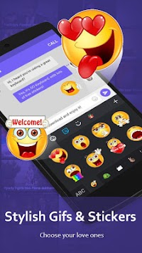 Teclado GO - Smileys,Emoticons APK screenshot thumbnail 4