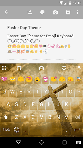 Easter Day Emoji Keyboard
