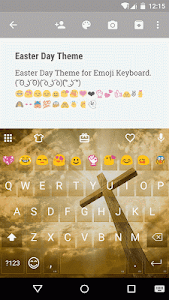 Easter Day Emoji Keyboard screenshot 0