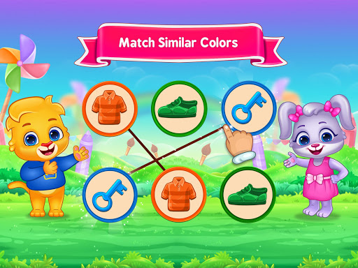 Colors & Shapes - Kids Learn Color and Shape screenshots 13