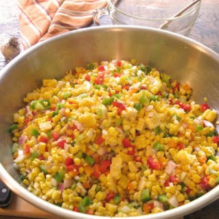 Sweet & Spicy Corn Relish.