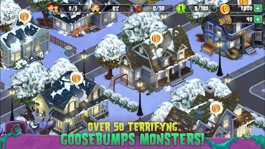 Goosebumps HorrorTown – The Scariest Monster City!  Apk Download For Android and Iphone 3