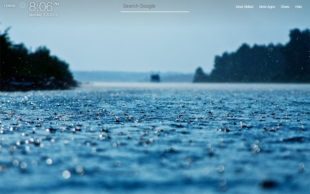 rain wallpapers fullhd new tab chrome