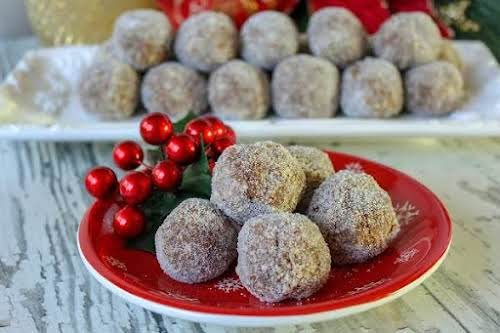 """Click Here for Recipe: Aunt Mildred's Whiskey Balls """"I remember as a..."""