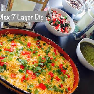 Tex Mex 7 Layer Dip.