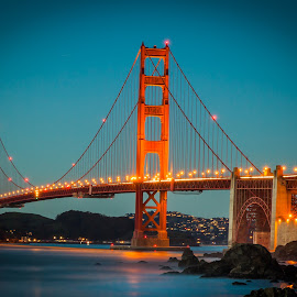 Golden Gate Bridge, San Francisco, CA, USA by Rechard Sniper - Buildings & Architecture Bridges & Suspended Structures
