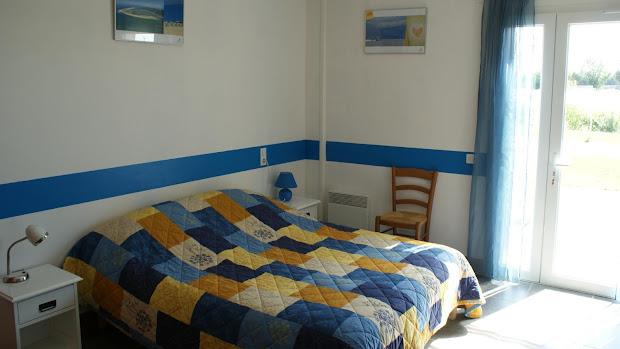 La Grange gîte accessible : chambre double