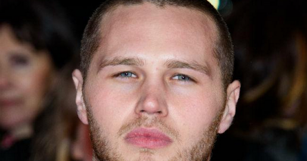 Danny Walters watches saucy EastEnders scenes alone