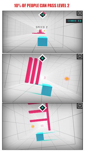 Speedy Box - Reflex Runner screenshot 1