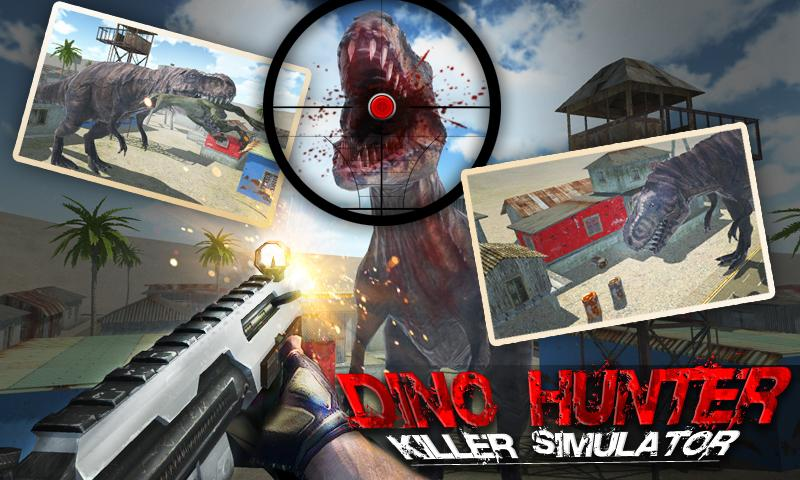 Dino Hunter Killer Simulator- screenshot