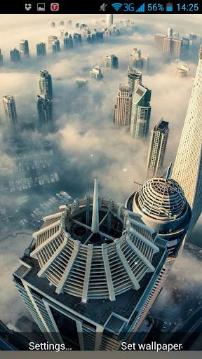 迪拜的動態壁紙