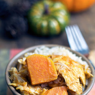 Slow Cook Pumpkin Butter Chicken