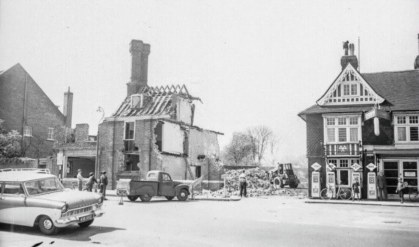 Eastwell House demolition 1964 East Cross Tenterden