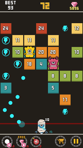 Bounzy Ball - screenshot