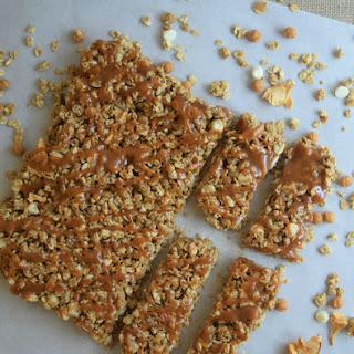Salted Caramel Apple Granola Bars