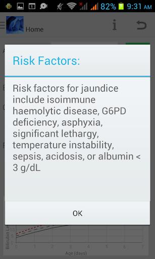 Phototherapy Calculator screenshot
