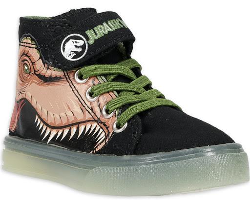 Jurassic World Kids Light-Up Shoes Only $7.99 on Walmart.com (Regularly $25)