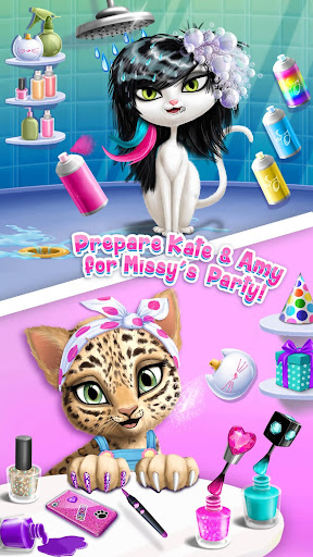Cat Hair Salon Birthday Party - Virtual Kitty Care screenshots 2