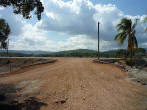 Photo: Janvier 2013 : la rampe d'entrée du site