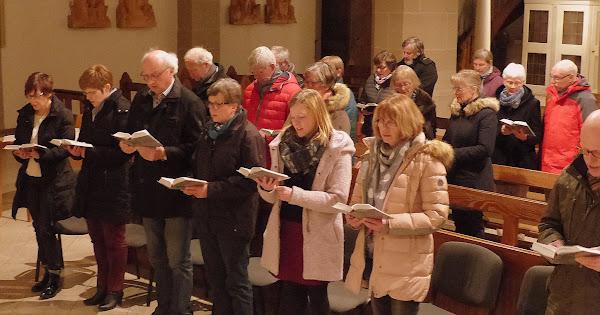 Erfüllte Zeit - Eucharistiefeier mit Meditation am Sonntagabend