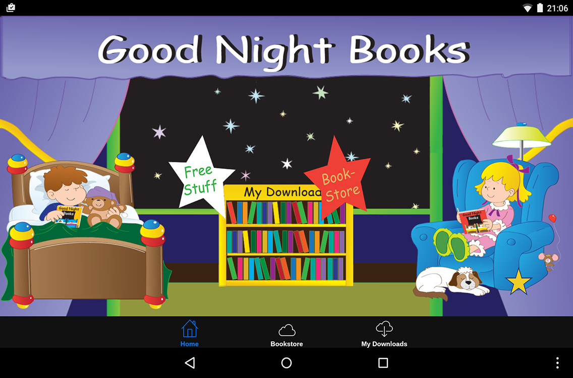 Good Night Books- screenshot