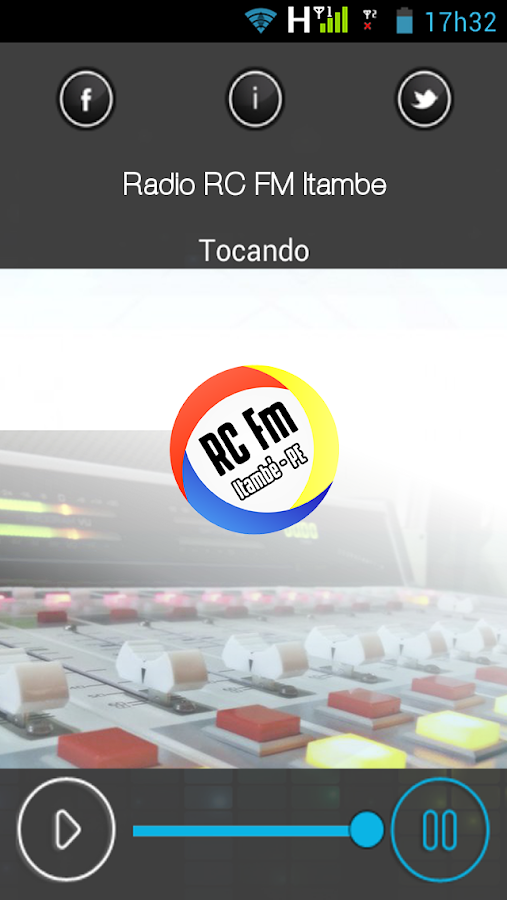 Rádio RC FM Itambé- screenshot