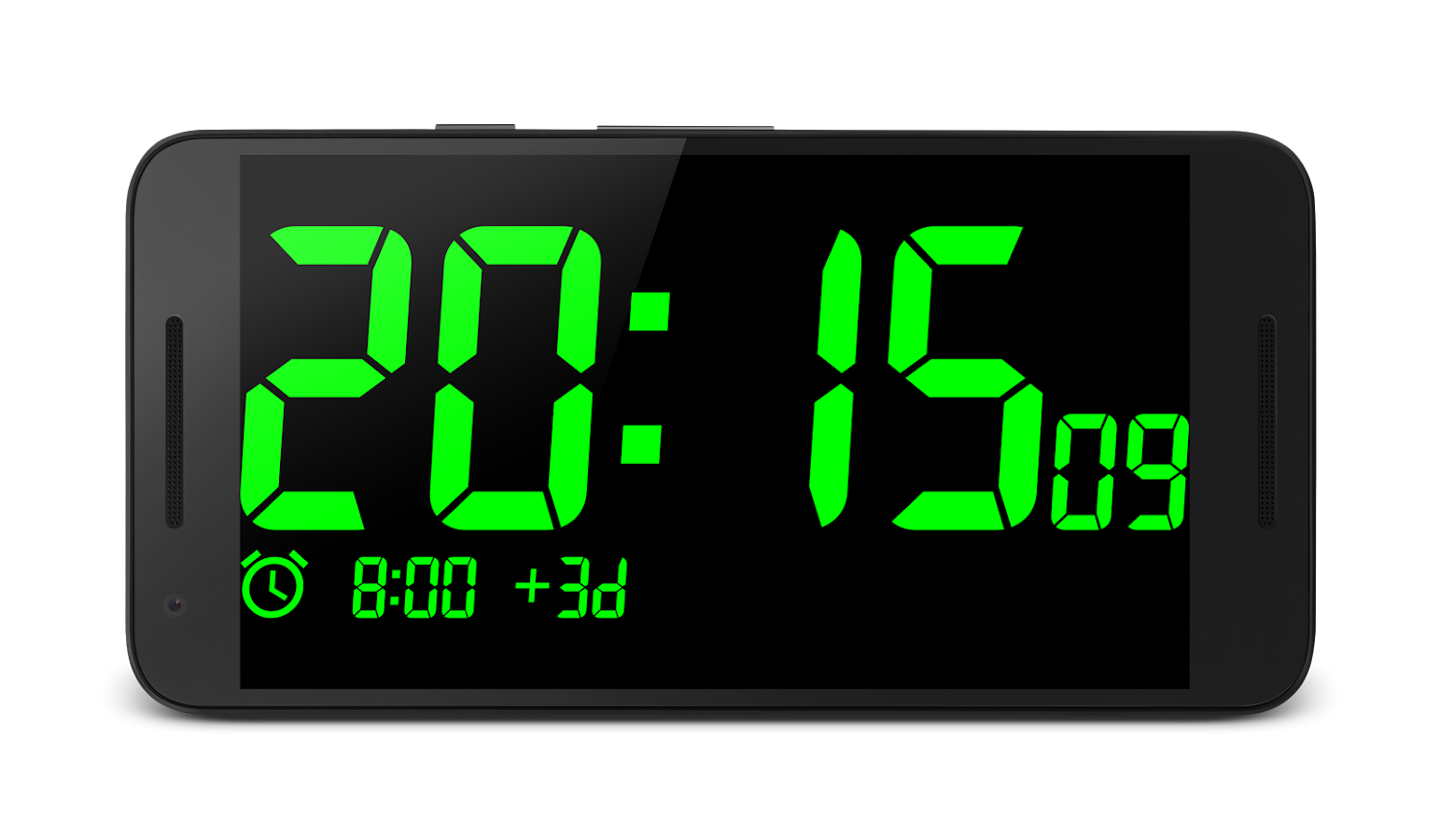 Big Digital Clock- screenshot