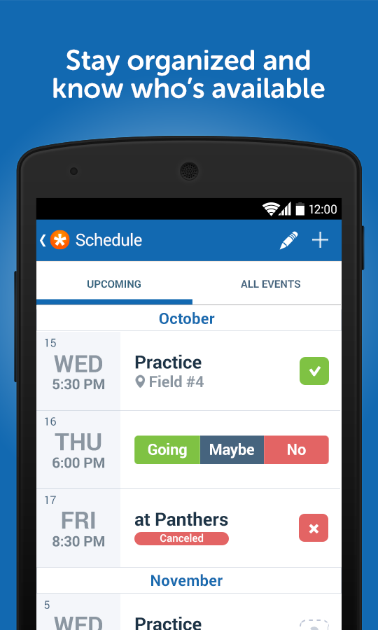 TeamSnapSport Team Management  Android Apps on Google Play